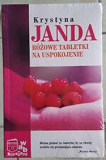 krystyna Janda Rozowe Tabletki Na Uspokojenie - Book - NEW/SEALED