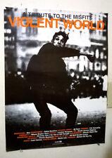 Misfits Poster 1997 Violent World Promo Horror Punk Samhain Danzig Doyle