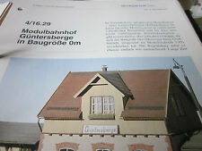 Kosak Praxishandbuch Hobbyeisenbahner 4/16.29 Modulabhnhof Güntersberge 0m 8S