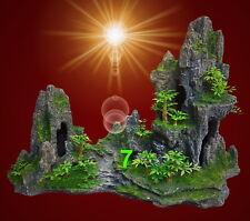 Trixie Felsformation mit Höhle/pflanzen (r7e)