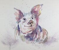 FREE POSTAGE  all Diane Antone Original Watercolor Paintings Xmas Special Offer