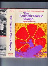 THE FANTASTIC PLASTIC VOYAGE-ST PIERRE-1ST 1989-HB/DJ-THE RAREST SURF TITLE VG+