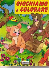 Giochiamo a colorare - La Primula - Libro nuovo in offerta!