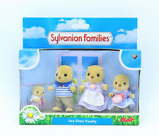 Sylvanian Families  Calico Critters Neptune Sea Otter Family - New in Box