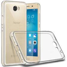 Custodia per Huawei Y5 II e PRO Cover Morbida Trasparente Silicone Tpu Gel Slim