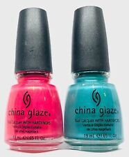 China Glaze Nail Polish FIJI FLING 560 + PASSION IN THE PACIFIC 561 Duos