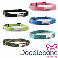 Doodlebone Dog Collars Puppy Bold Durable Nylon Adjustable 5 Sizes / 6 Colours