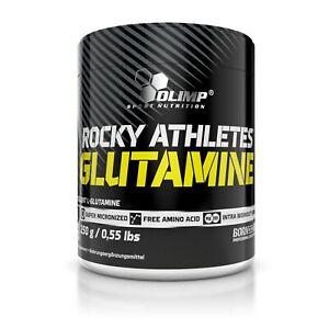 OLIMP Glutamine Rocky Athletes 250g PURE MICRONIZED L-GLUTAMINE POWDER