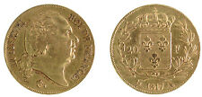 20 Francs Or LOUIS XVIII - 1817 A PARIS