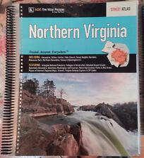 Northern Virginia VA ADC LAMINATED Street Atlas