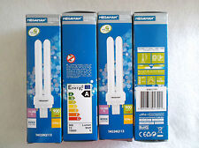 DEAL OF 4! MEGAMAN G24q-1 LAMPS - 4000K COOL WHITE 4 PIN TYPE 13Watt