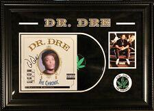 Dr. Dre The Chronic Signed Autographed Vinyl Album Custom Designed Frame JSA LOA