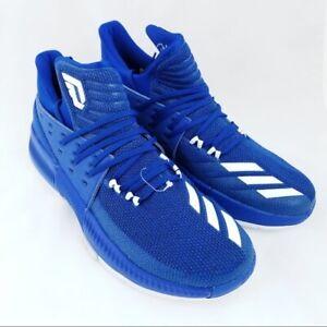 New Adidas Mens Dame 3 - Blue Basketball ShoeS NIB BY3191 Size 9.5