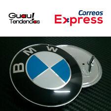 Emblema Logo BMW Capo Maletero 74mm Azul Blanco 2 Pines Serie 1 3 5 6 Emblem