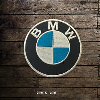BMW Car Brand Racing Logo Embroidered Iron on Patch Sew on Badge