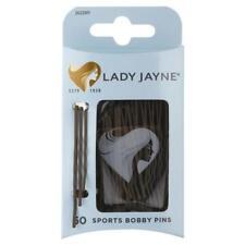 Lady Jayne Super Hold Contoured Bobby Pins Hair Pin Brown Pk 60 2622BR