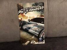 Notice Mode D'emploi Need For Speed Most Wanted Nintendo Gamecube GC