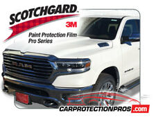 2019-2020 Ram 1500 Laramie, Longhorn, Limited 3M PRO Series Clear Bra Deluxe Kit