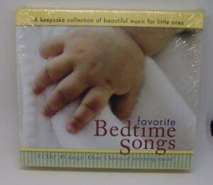 Baby Genius: Favorite Bedtime Songs by Various Artists (CD, Apr-2008) SEALED NEW