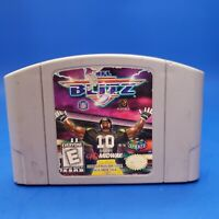 NFL Blitz Nintendo 64, 1997 N64 Football Authentic Tested Cartridge Game