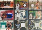 54 Basketball Jersey-Cards in einem Lot: Terry, Fisher, Walker, Marion, u.A. Trading Card Sammlungen & Lots - 261329
