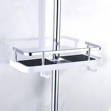 Bathroom Shampoo Shelf Shower Storage Rack Holder Bath Towel Tray Home Shelves