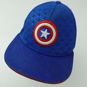 Captain America Avengers Ball Cap Hat Youth Snapback Adjustable Baseball