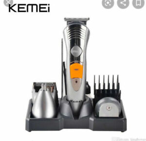 New in Box KEMEI KM-580A 7 in 1 Rechargeable Grooming Kit (Shaver, Nose, Beard)