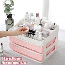 USA 20 Grids Makeup Cosmetics Jewelry Organizer Display Box Storage 2-layers