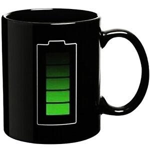 Magic Mug Battery - Magic Coffee & Tea Cool Heat Changing Sensitiv