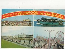 Wildwood By The Sea New Jersey 1967 Postcard USA 619a