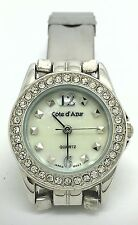 Authentic Cote d' Azur Silver Toned Watch