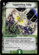 Holo/Foil Supporting Tulip 5/55 Very Rare Duel Masters TCG Unplayed
