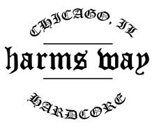 Harms way Chicago hardcore decal sick of it all agnostic front terror nyhc