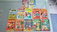 VINTAGE DISNEY COMICS,  12. 1955/56/ & UP TO 88, YOU BE THE JUDGE. TAKE A LOOK !
