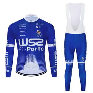 New Cycling Jerseys Bib Pants Bike Clothes 3D Pad Long Sleeve Ride Women Set