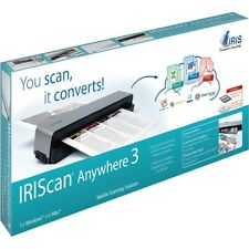 IRIScan Anywhere 3 -- full page portable scanner - 600 dpi NEW!