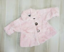 Corky & Company Coat Pink Faux Fur 6 Months Baby Infant Girls Winter