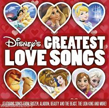 Disney's Greatest Love Songs ~ NEW CD Album ~ Frozen, Aladdin, Lion King