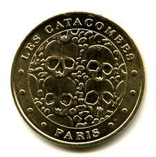 75014 Les Catacombes, 4 crânes, 2012, Monnaie de Paris