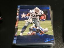 EDDIE GEORGE 2017 PLATES AND PATCHES LEGEND BLUE #123 COWBOYS  #13/50 MADE!