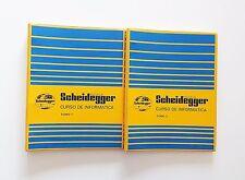 Libros / Manuales de Informática Escuela Scheidegger Tomo I & II (1985)(Español)