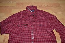 Polo Ralph Lauren red black pony checker plaid shirt lumber jack PRL 67 S small