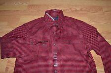 Polo Ralph Lauren red black pony checker plaid shirt lumber jack PRL 67 S small