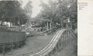 Tolchester Beach MD * Switchback  1912  Roller Coaster  Amusement Park.