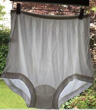 Vintage Nos Spun Lo Acetate Panties Comfort Band Legs Size 9