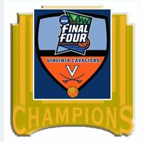 2019 VIRGINIA CAVALIERS FINAL FOUR CHAMPIONS PIN NCAA BASKETBALL CHAMPIONSHIP