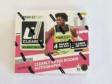 2020-21 Panini Clearly Donruss Basketball Sealed Hobby Box FREE SHIPPING