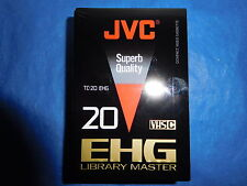 JVC TC20 EH VHS C Blank Camcorder Video Cassette Tape Japan TC-20 LIBRARY MASTER