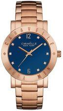 Caravelle New York 44L202 Ladies Rose Gold Plated Bracelet 3 Yr Guar RRP £119.00